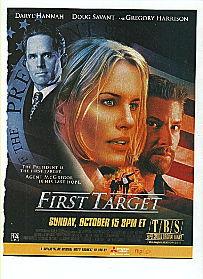 T V - ; FIRST TARGET - DARYL HANNAH (Image1)