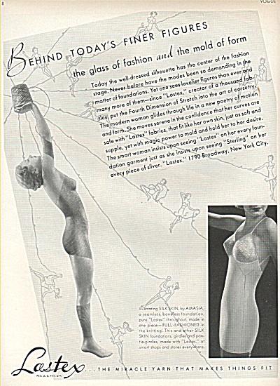 Lastex - the miracle yarn ad 1936 (Image1)