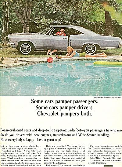 Chevrolet Impala auto ad 1965 (Image1)