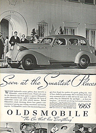 Oldsmobile six and eight autos ad 1936 (Image1)