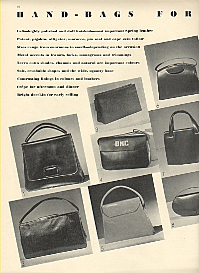 Handbags for Spring pictures 1936 (Image1)