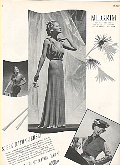 Milgrim shop  & Bonwit Teller ads 1936 (Image1)