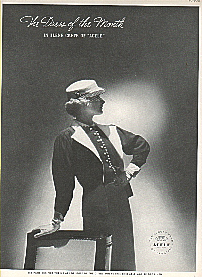 The Dress of the month ad 1936 (Image1)