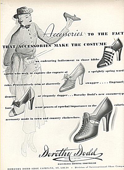 Dorothy Dodd footwear ad 1936 (Image1)
