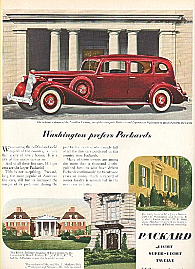 Packard Auto ad 1936 (Image1)