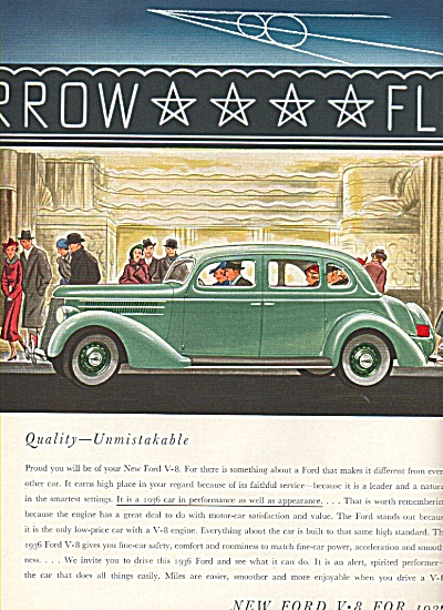 Ford V - 8 for 1936 ad (Image1)