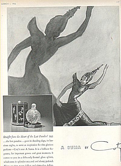 A suma by COTY  ad    1936 (Image1)