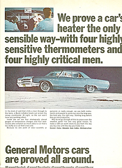 General Motors cars ad 1965 (Image1)