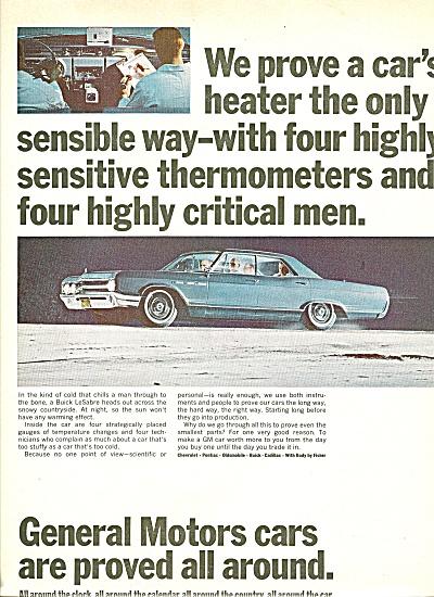 General Motors cars ad 1965 Buick LeSabre CAR (Image1)