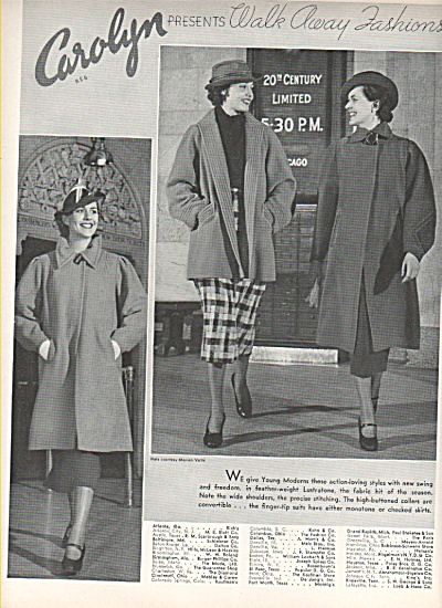 Carolyn walk away fashions ads 1936 (Image1)