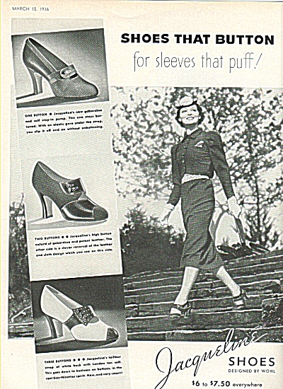 Jacqueline shoes ad 1936 (Image1)