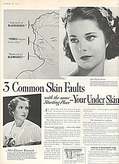 Special Ponds 9 treatment tube ad 1936 (Image1)