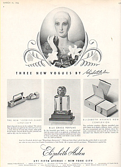 Elizabeth Arden of New York ad 1936 (Image1)