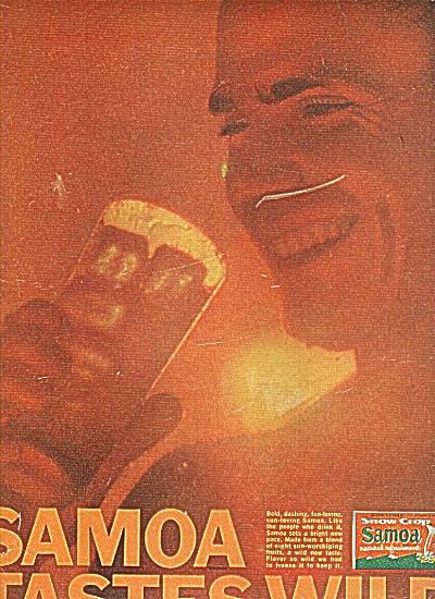 Samoa snow crop drink ad 1964 (Image1)
