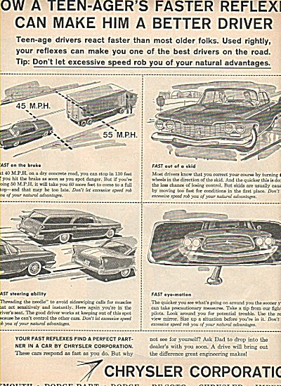 Chrysler Corporation cars ad 1959 (Image1)