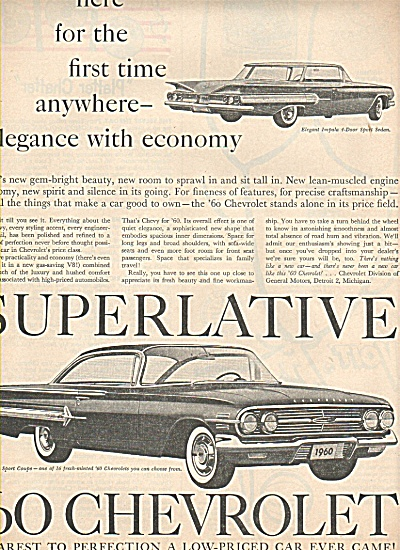 1960 Chevrolet ad (Image1)