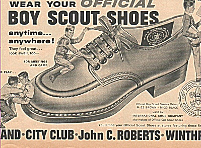 Boy scout shoes ad 1963 (Image1)