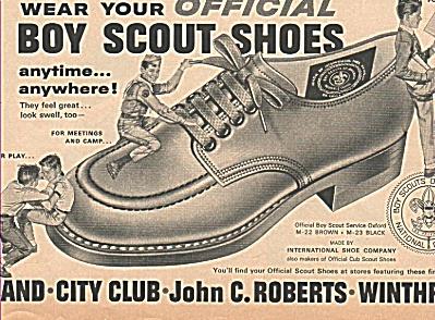 Boy scout shoes ad 1963 (Image1)