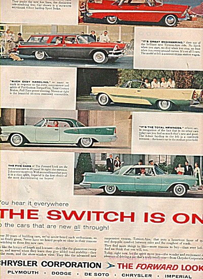 Chrysler Corporation Ad 1957