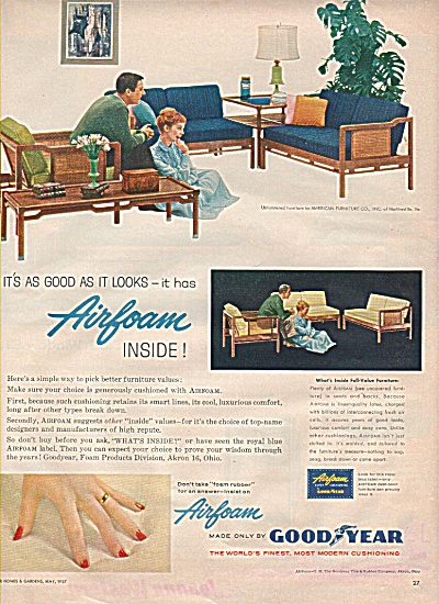Good year Airfoam ad 1957 (Image1)