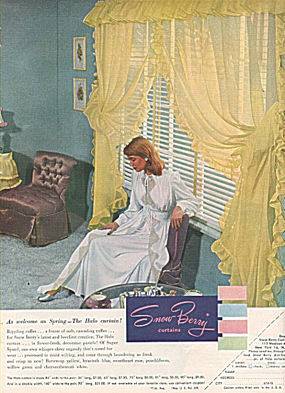 Snow Berry curtains ad 1948 (Image1)