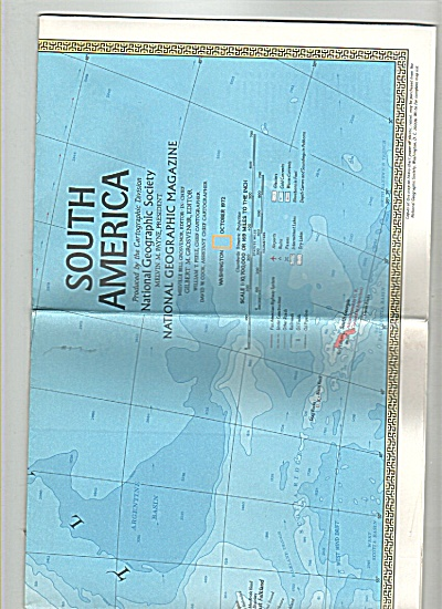 Map and history of South American - 1972 (Image1)