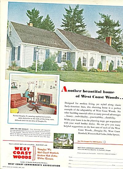 West Coast Woods ad 1951 (Image1)