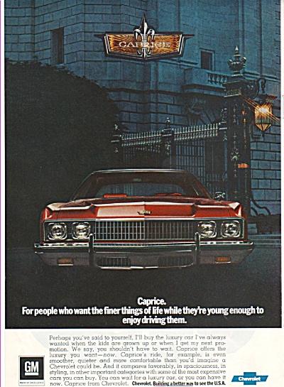 Chevrolet Caprice ad 1973 (Image1)