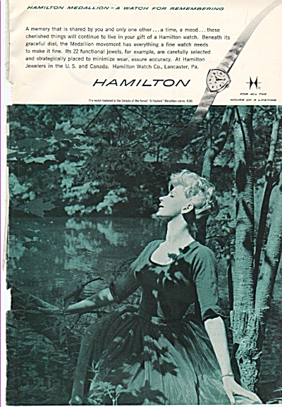 Hamilton Watches ad 1960 (Image1)