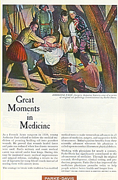 Parke Davis - Great moments in medicine (Image1)