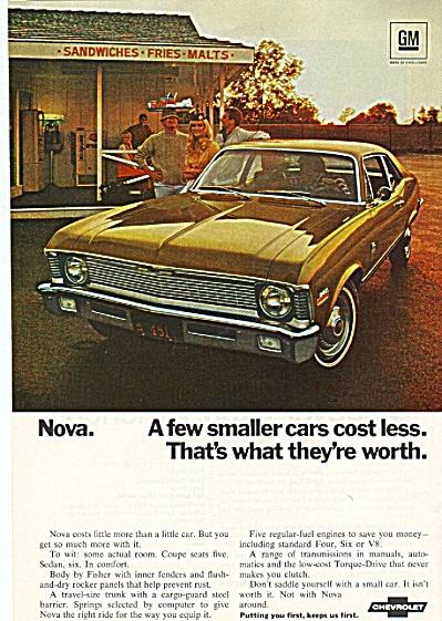 Chevrolet Nova ad 1970 #2 (Image1)