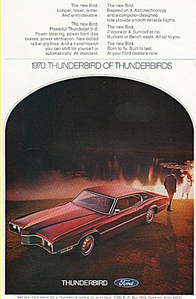 Ford Thunderbird ad 1970 (Image1)