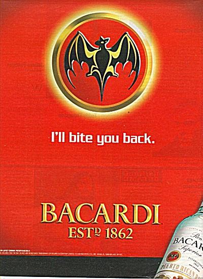 Bacardi Puerto Rican rum ad 2000 (Image1)