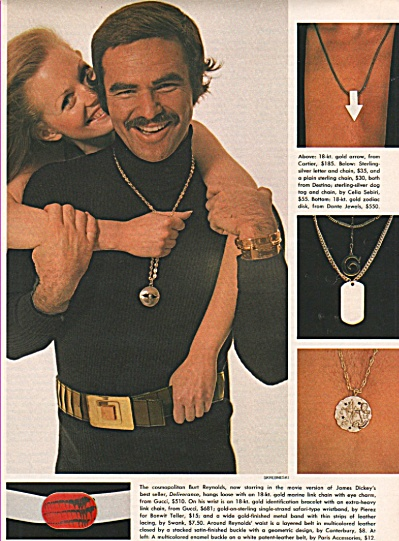 BURT REYNOLDS  with accessories 1972 (Image1)