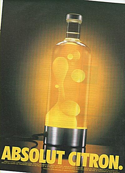 Abolut Citron ad - 2000 (Image1)