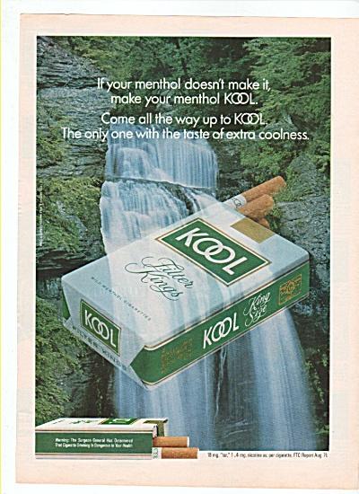Kool cigarettes ad 1972 (Image1)