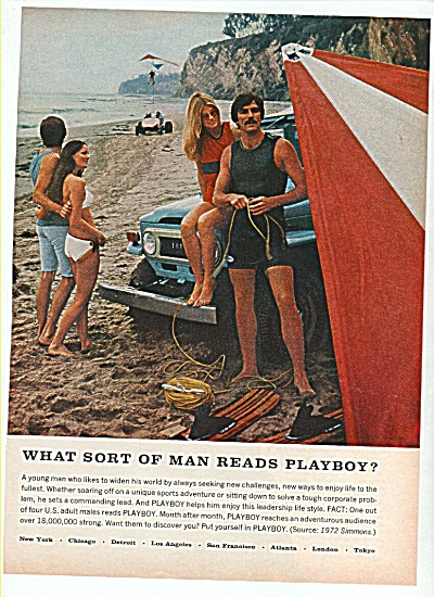Playboy readers ad 1972 (Image1)