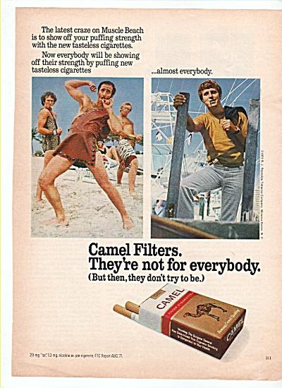 Camel filter cigarettes ad 1972 (Image1)