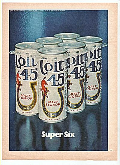 Col .45 malt liquor ad 1972 (Image1)