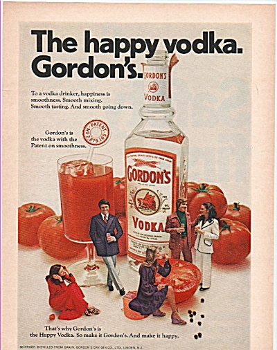 Gordon's Vodka  ad 1972 (Image1)