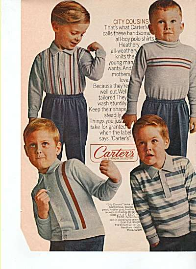 Carter's clothes ad 1965 (Image1)