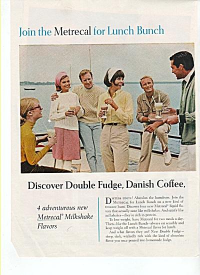 Metrecal milkshake ad  1965 (Image1)