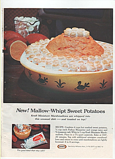Kraft whipt sweet potatoes ad  - 1965 (Image1)