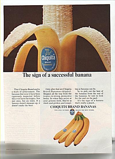 Chiquita Brand bananas ad 1965 (Image1)
