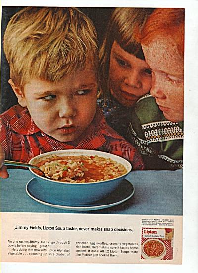Lipton soup ad 1965 (Image1)