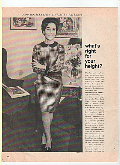 Good Housekeeping simplicity patterns ad 1965 (Image1)