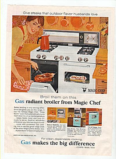 Gas radiant broiler - Magic Chef ad 1965 (Image1)