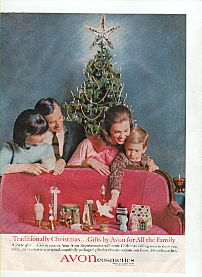 Avon cosmetics ad 1965 CHRISTMAS GIFTS (Image1)