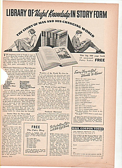 Library Of Useful Knowledge Ad 1939