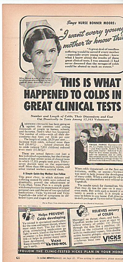 Vicks vaporub ad 1939 (Image1)